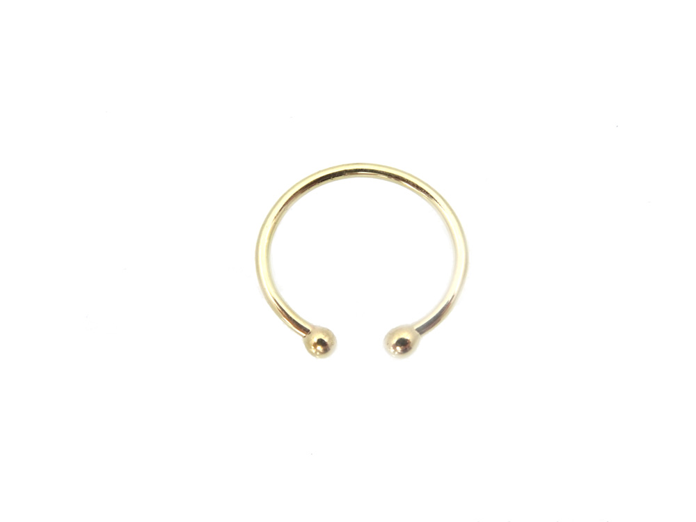 ring gold 14k cuff above