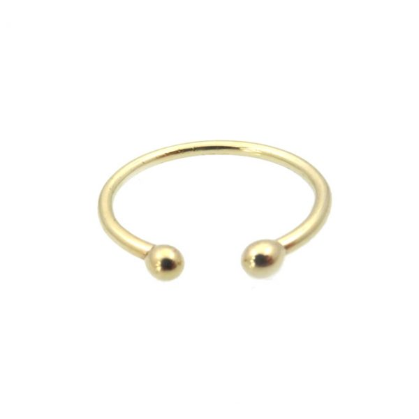ring gold 14k cuff front