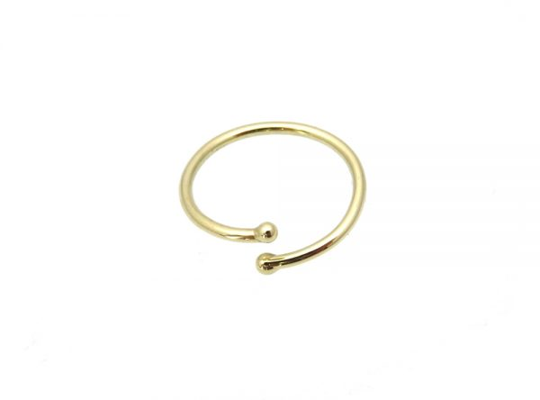 toe ring pinky gold 14k join