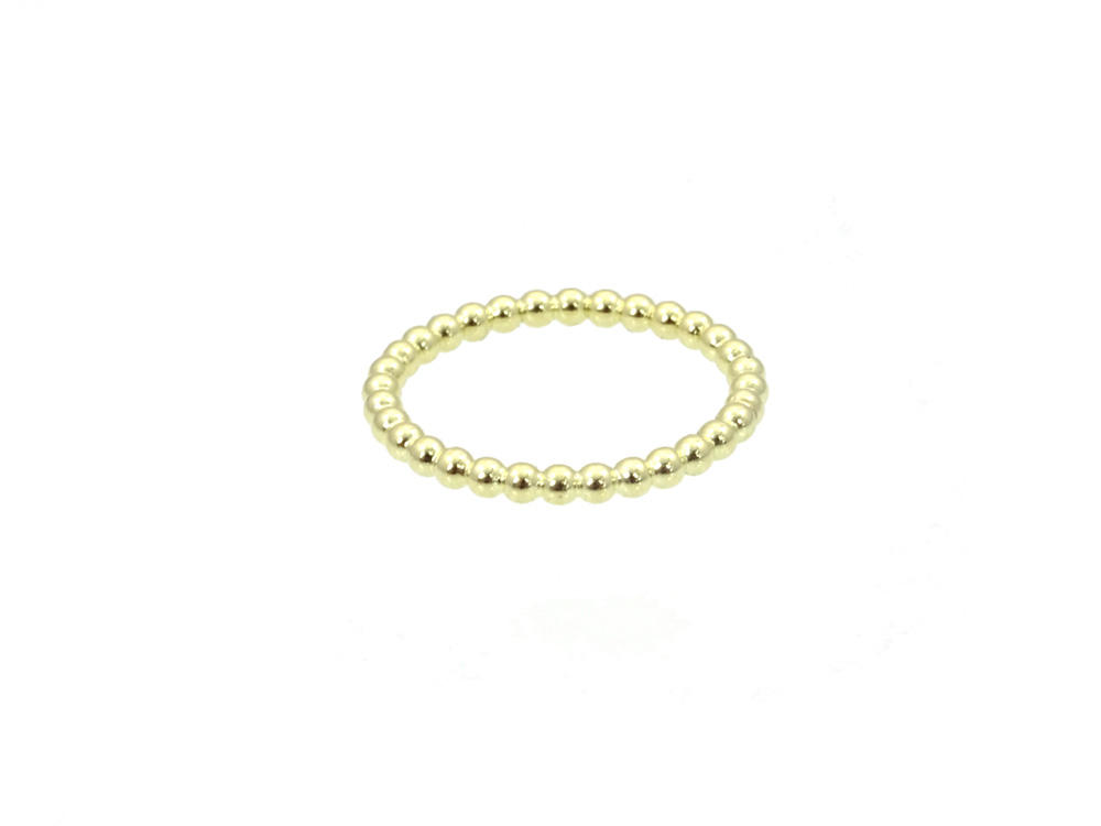 ring gold 14k honey front