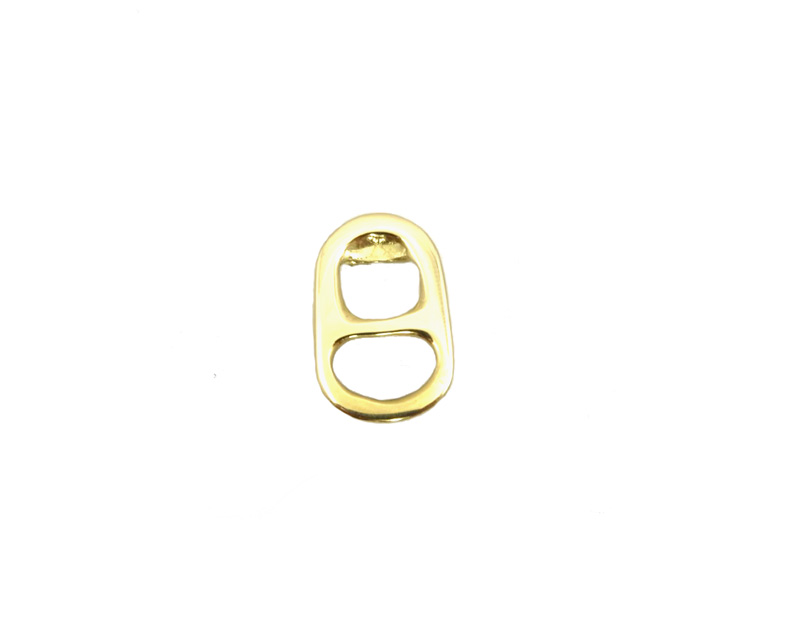 hanger gold 14k sugar clip above cola